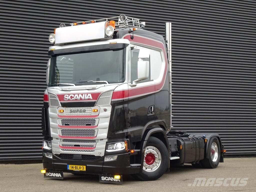 Scania S520 V8 / EURO 6 / OLD SCHOOL / FULL AIR / RETARDE