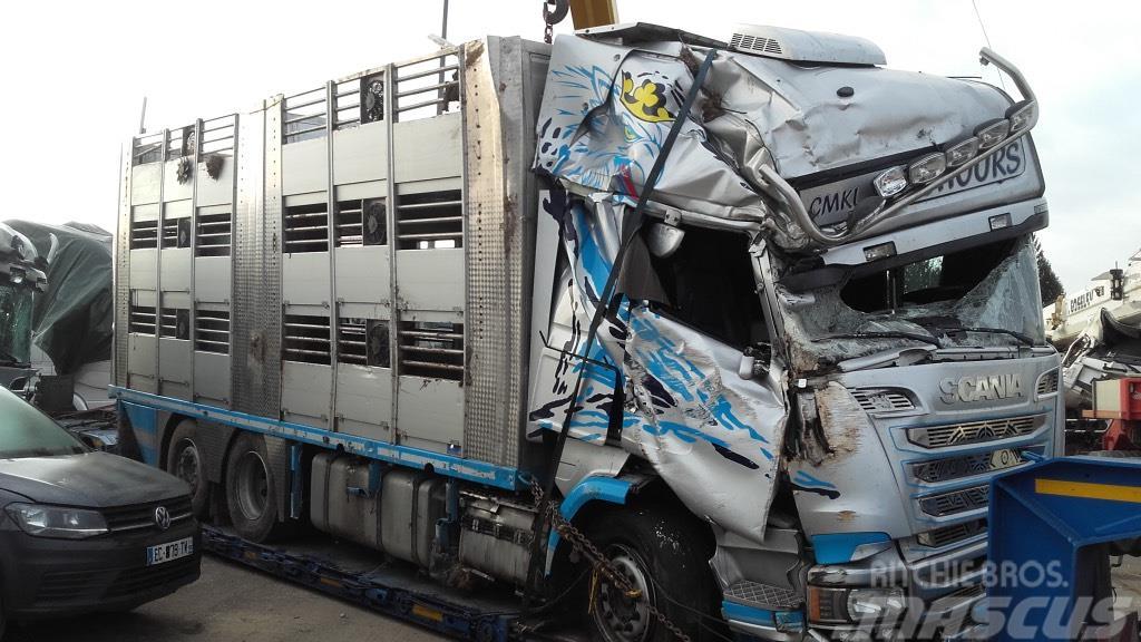Scania R580/IRMA M18P3-2 *ACCIDENTE*DAMAGED*UNFALL*