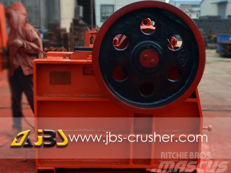 JBS PE400*600 jaw crusher 50tph crusher palnt