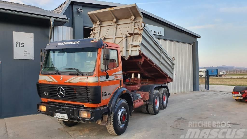 Mercedes-Benz SK 2635 K 6X4 meiller tiper