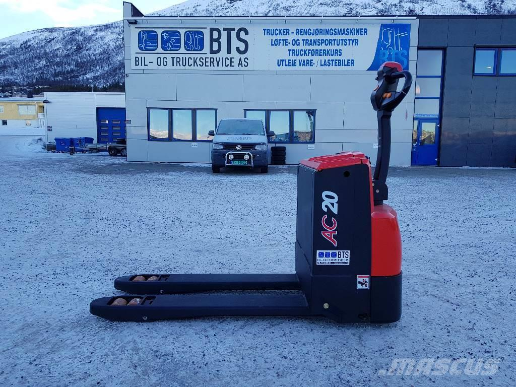 Heli CBD20-180 - 2,0 tonns palletruck (på lager)