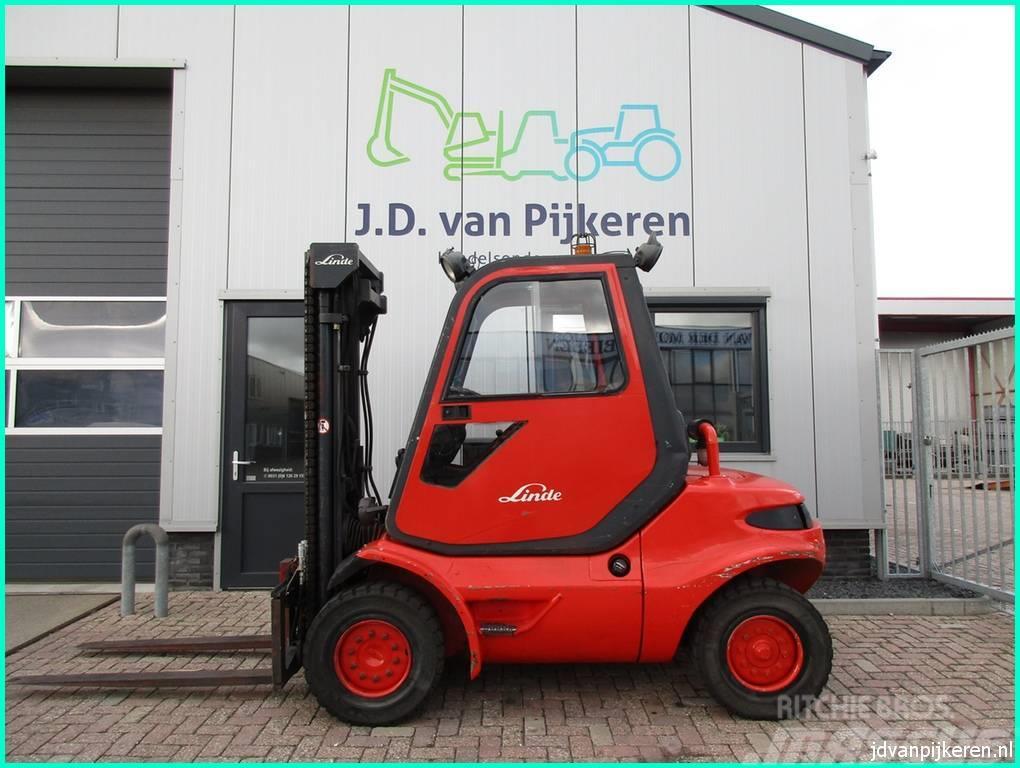 Linde H45D diesel triplex freelift 4x hydrauliek!