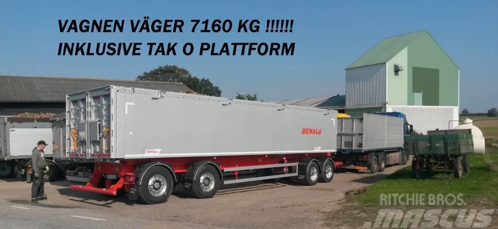 Benalu 4-axlad Optiliner 38 ton Bulk & Pallgods