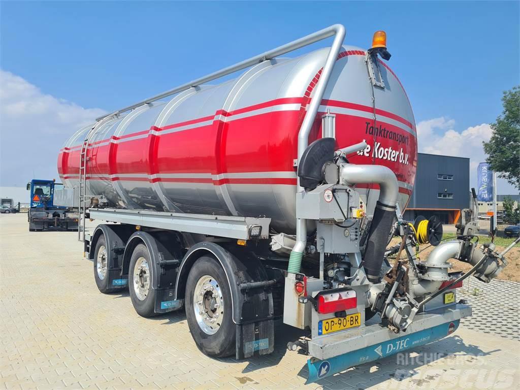 D-tec Trailer Tanktrailer FV2006