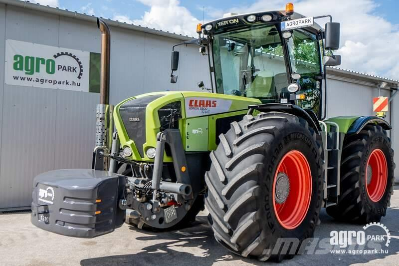 CLAAS Xerion 3300 (4921 hours) 50 km/h, cab suspension