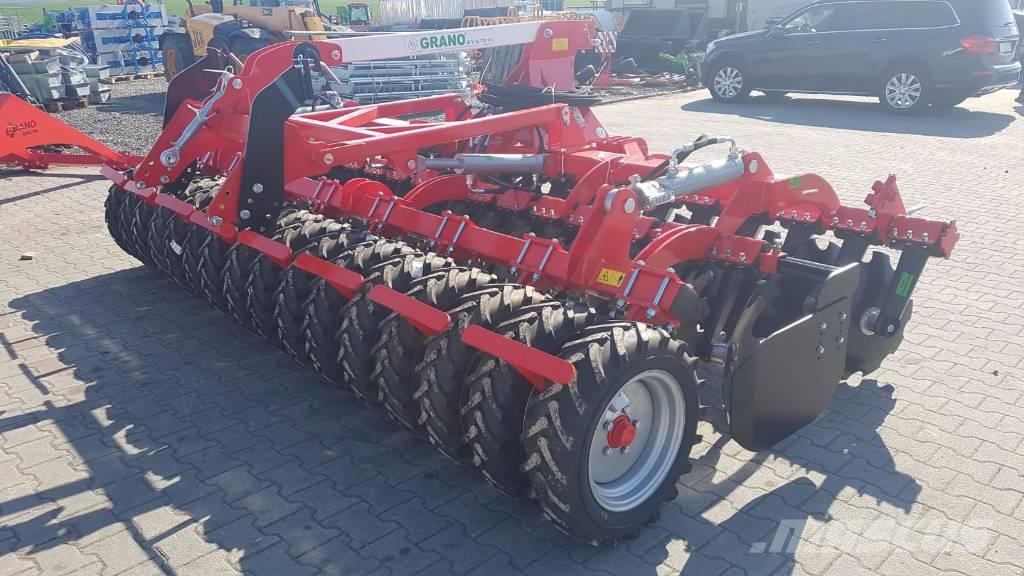 Grano System SHOP  4,0m tires roller + lift for seeder