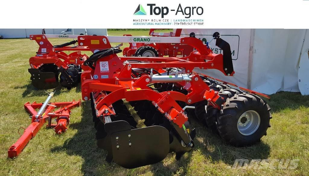 [Other] Grano SHOP  4,0m tires roller + lift for seeder