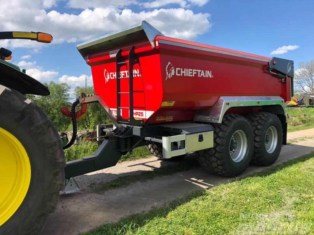 Chieftain HP Dumperkärra 25 ton Hardox
