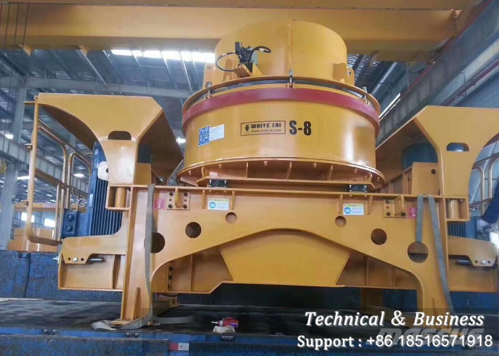 White Lai S8 50TPH VSI Sand Making Machine