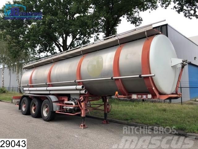 BSL Food 28500 Liter , 5 Compartments, RVS Food tank,