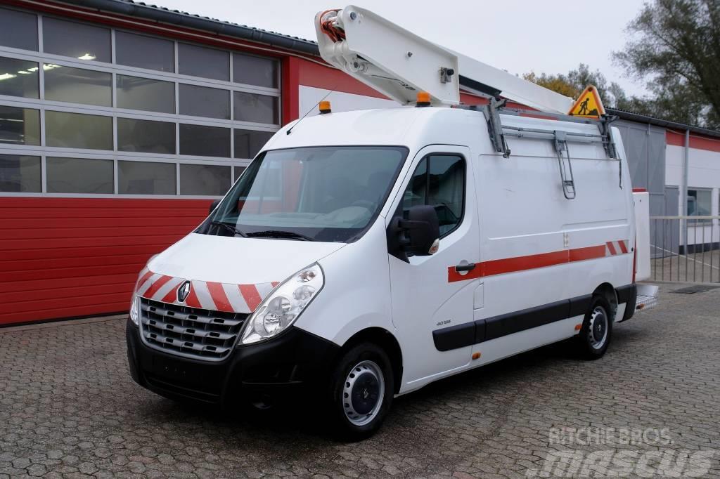 Renault Master 125 Arbeitsbühne ET-32-LE EURO5 TÜV UVV