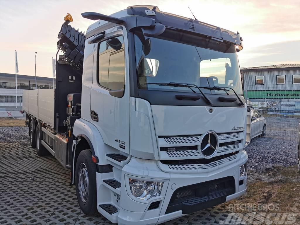 Mercedes-Benz Actros V 2532 Brädgårdsbil