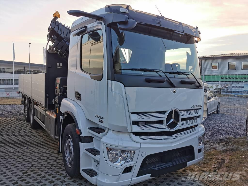 Mercedes-Benz Actros V 2832 Brädgårdsbil