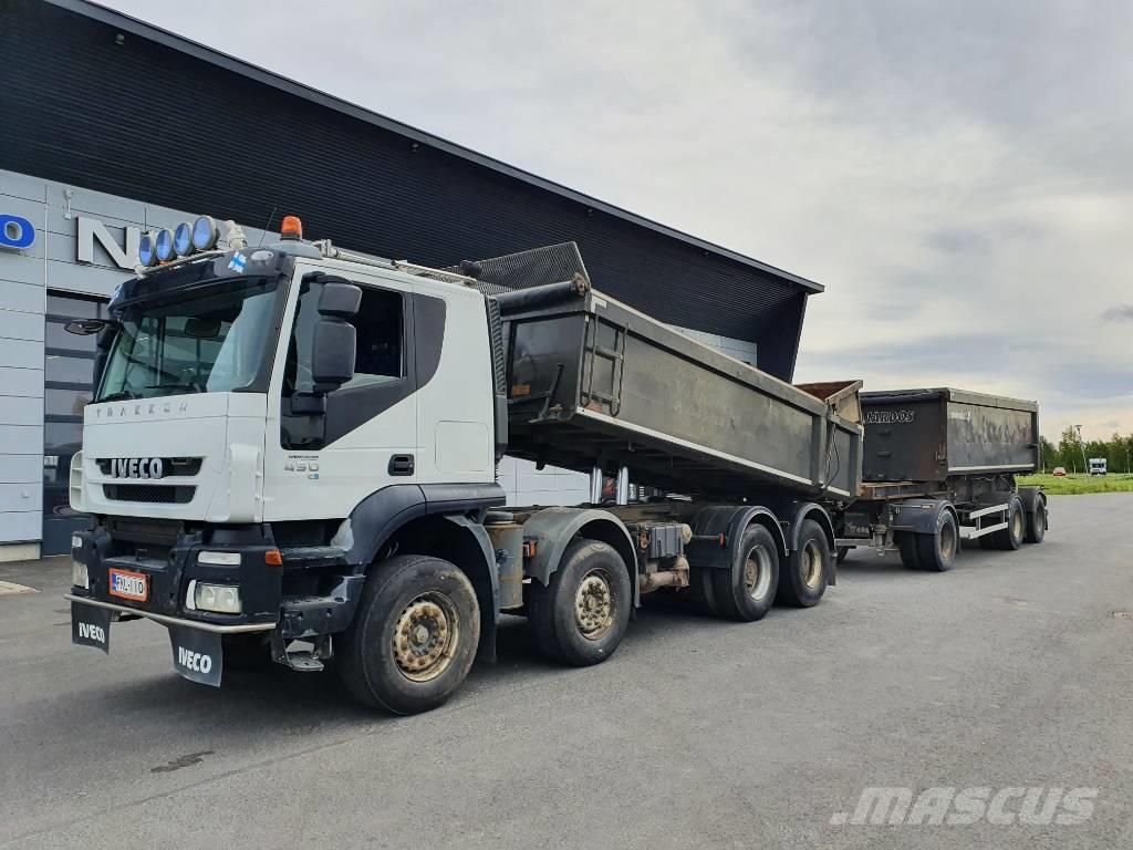 Iveco TRAKKER 450 + PV 3-aks