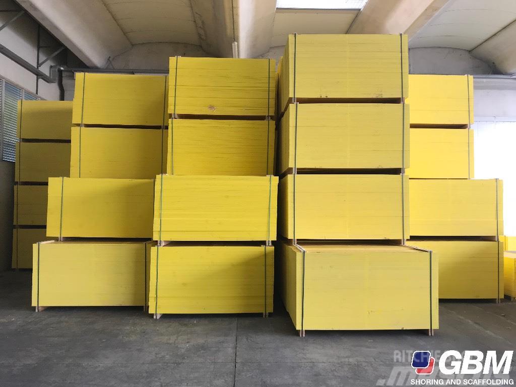 Used gbm pannelli panels panneaux schalungsplatten for Pannelli in legno lamellare prezzi