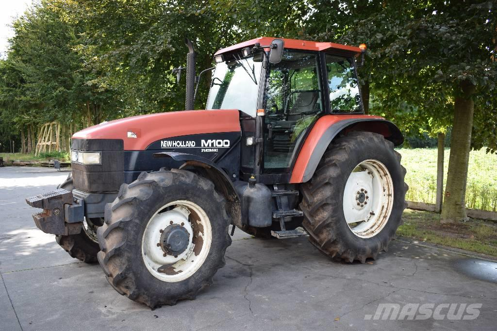 Used New Holland M100 tractors Year: 1996 for sale ...