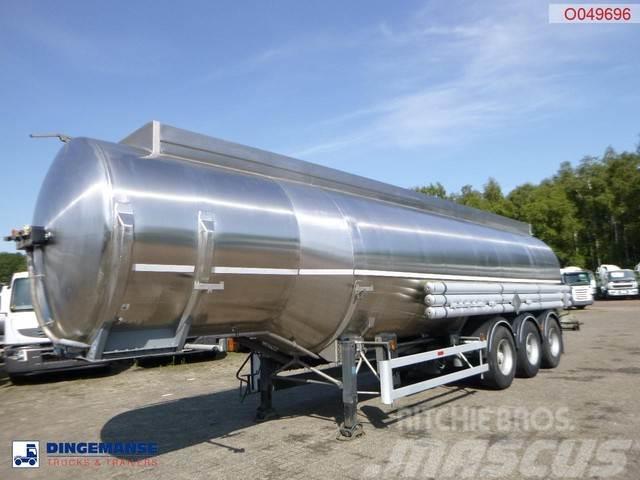Magyar Fuel tank inox 38.4 m3 / 8 comp / ADR valid 01/202