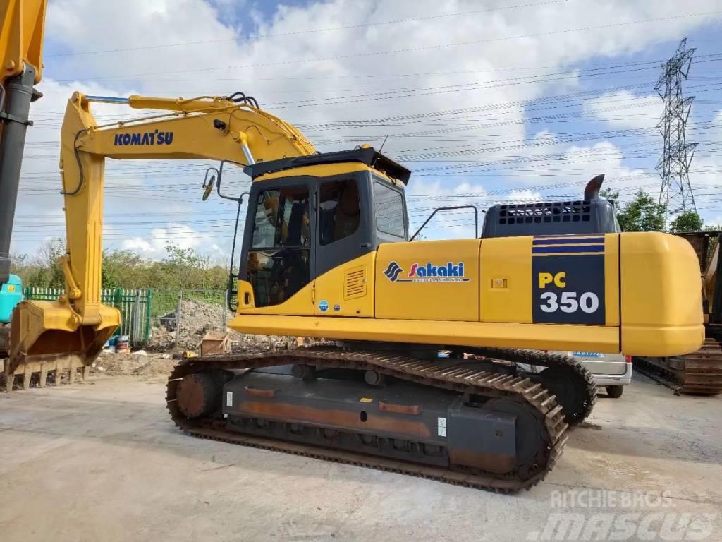 Komatsu PC350-7  PC300-7履带式挖掘机