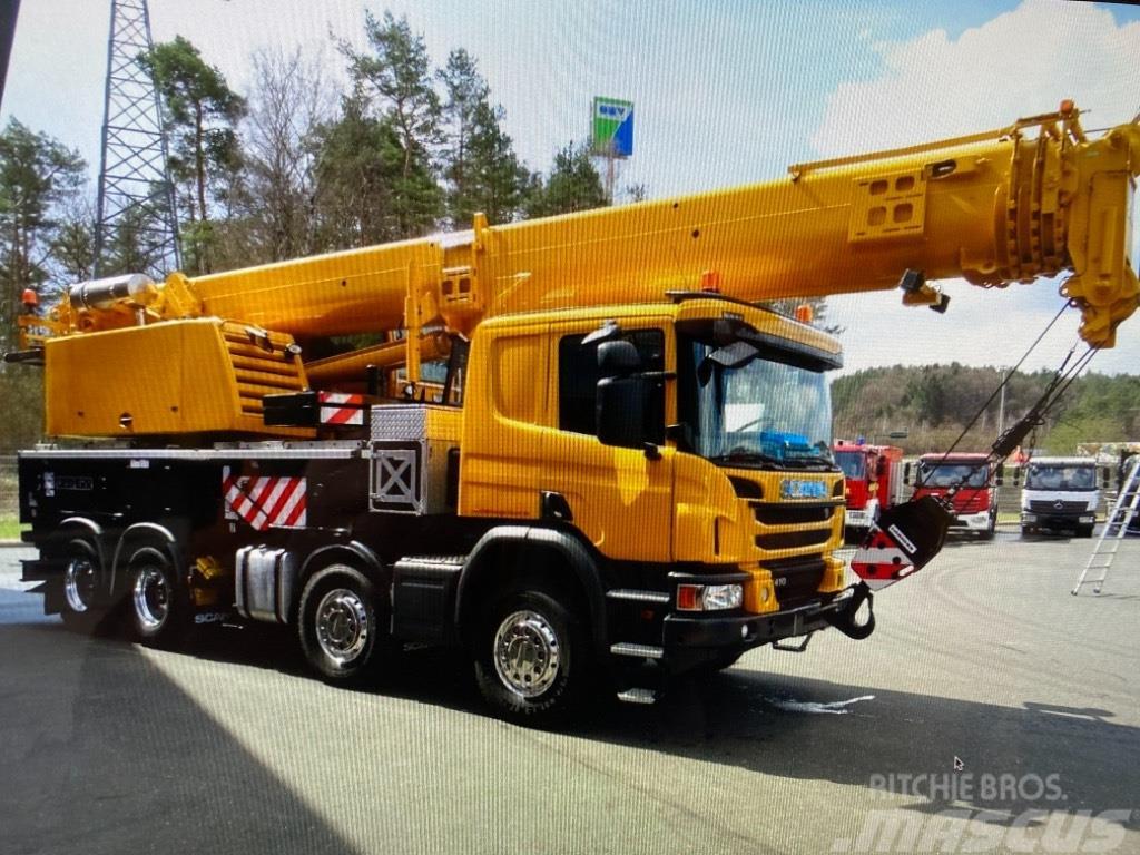 Scania 410P Liebherr 1045-4.1 LTF