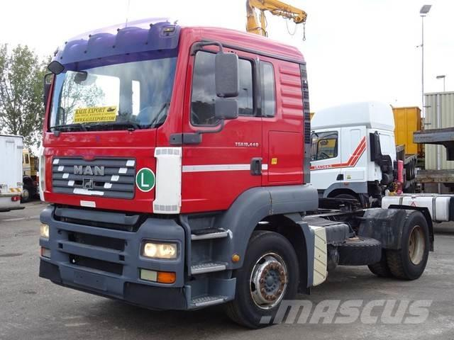 MAN TGA 18.440 Manuel Gearbox Hydraulic Inst. Good Con