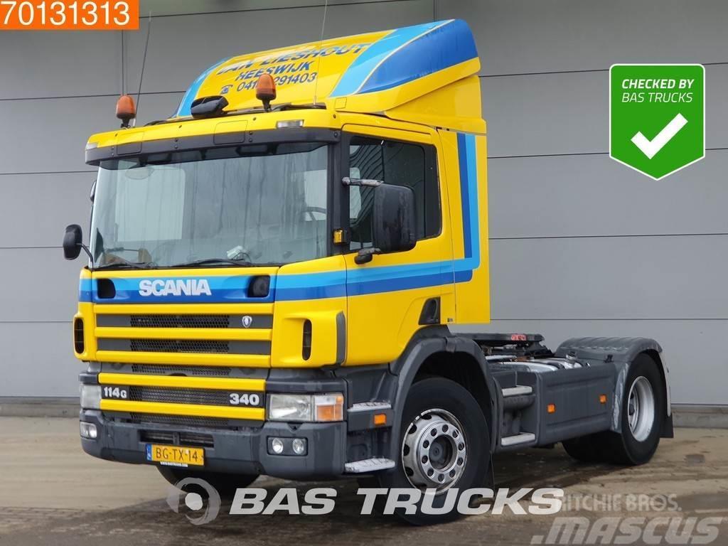Scania P114G 340 4X2 Manual Hydraulik Compressor Euro 2