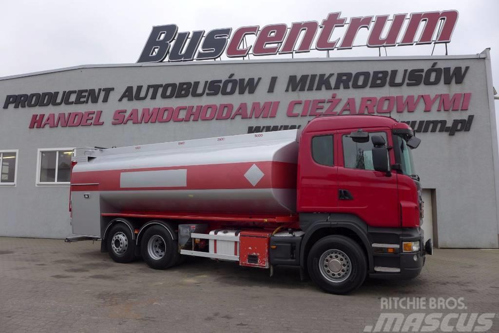 Scandia R420 6x2 Tank 18500 L