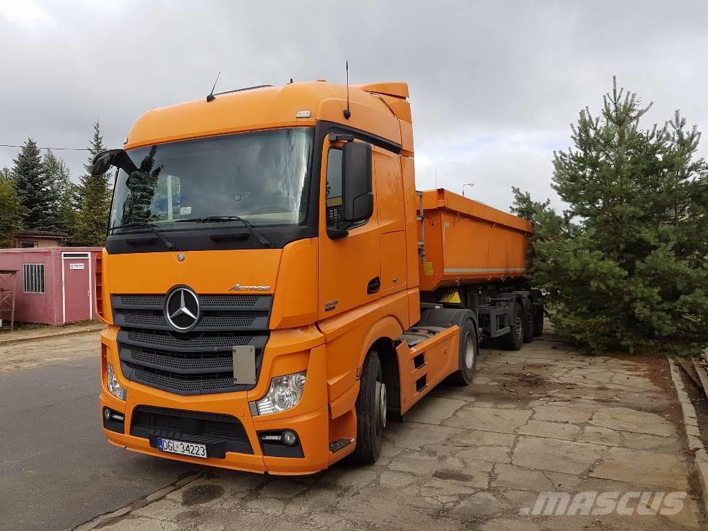 used ci gnik siod owy mercedes benz actros mp4 tractor units year 2013 price 74 155 for sale. Black Bedroom Furniture Sets. Home Design Ideas