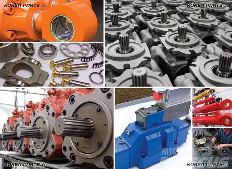Hitachi varuosad ehitusmasinatele ja pinnasetöömasinatele