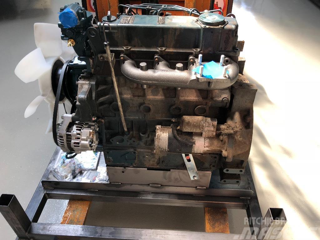 Kubota V 3600 Motor defect