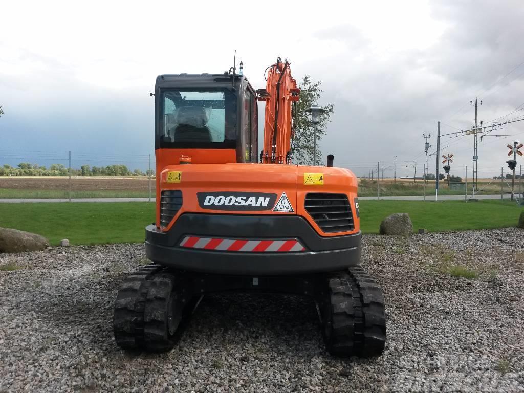 Doosan DX 85 R, Uthyres
