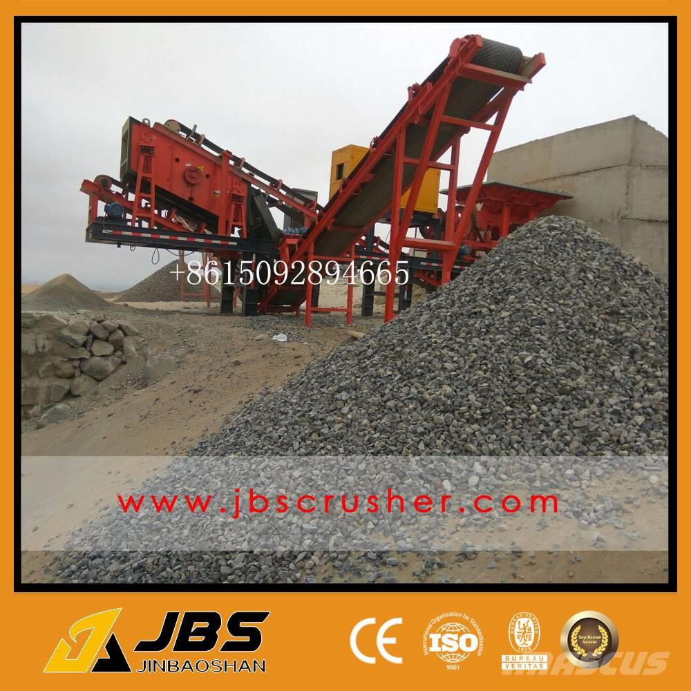 JBS small mobile jaw crusher