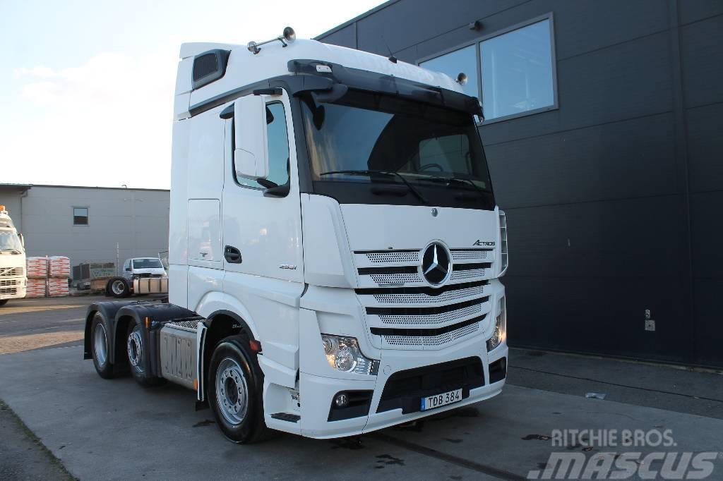 Mercedes-Benz ACTROS  2551 6X2*4 Euro 6