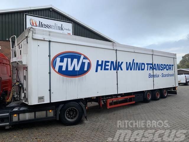 Knapen K200 97m3 Walkingfloor Cargo floor 10MM Liftachse