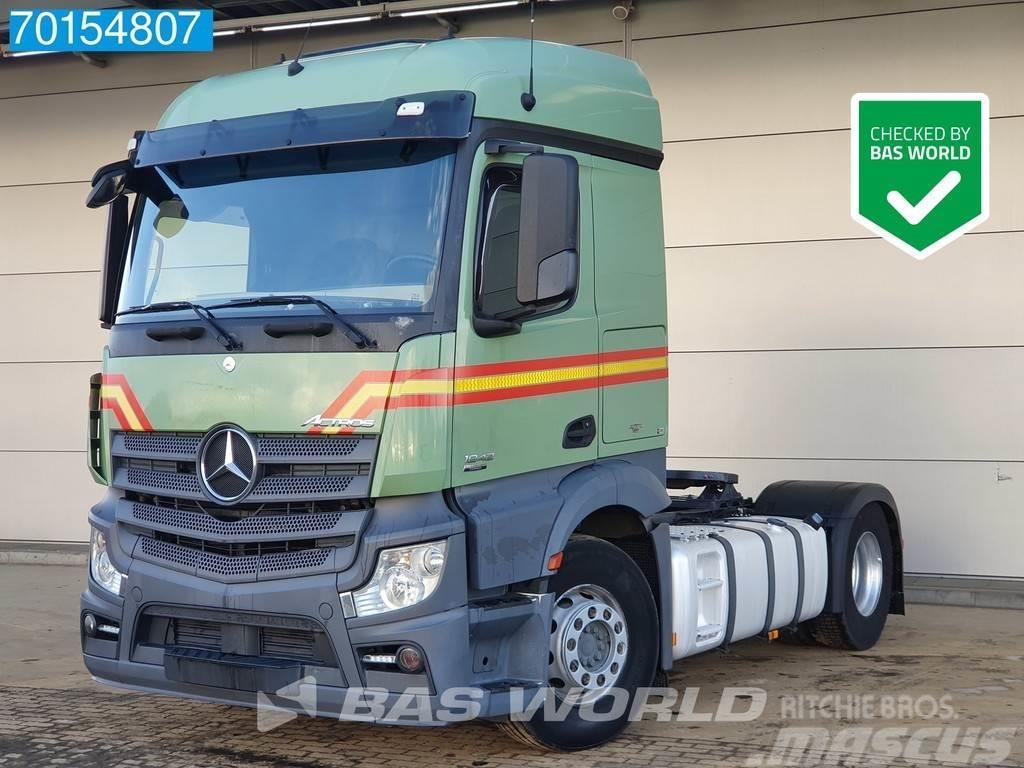 Mercedes-Benz Actros 1842 4X2 Retarder 2x Tanks ClassicSpace EEV