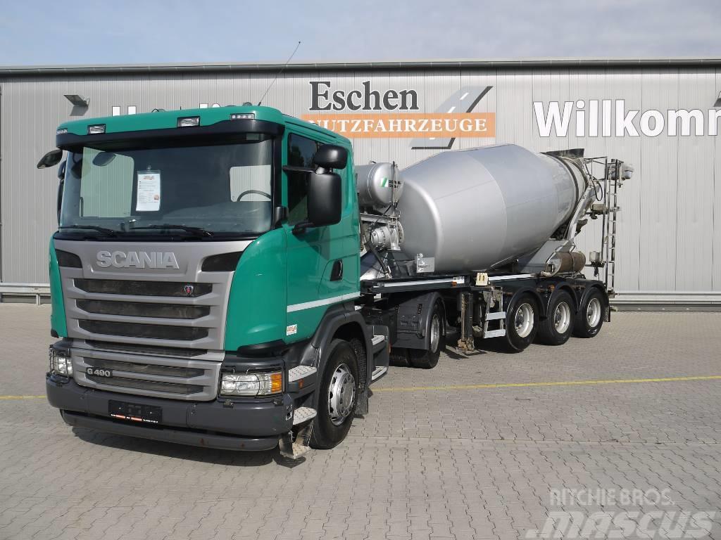 Scania G 490, Euro 6, Stetter 10m³