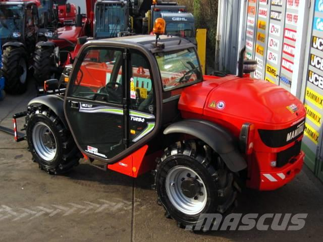Manitou Manitou MLT 627 T TURBO COMPACT ** 6m / 2.7t.
