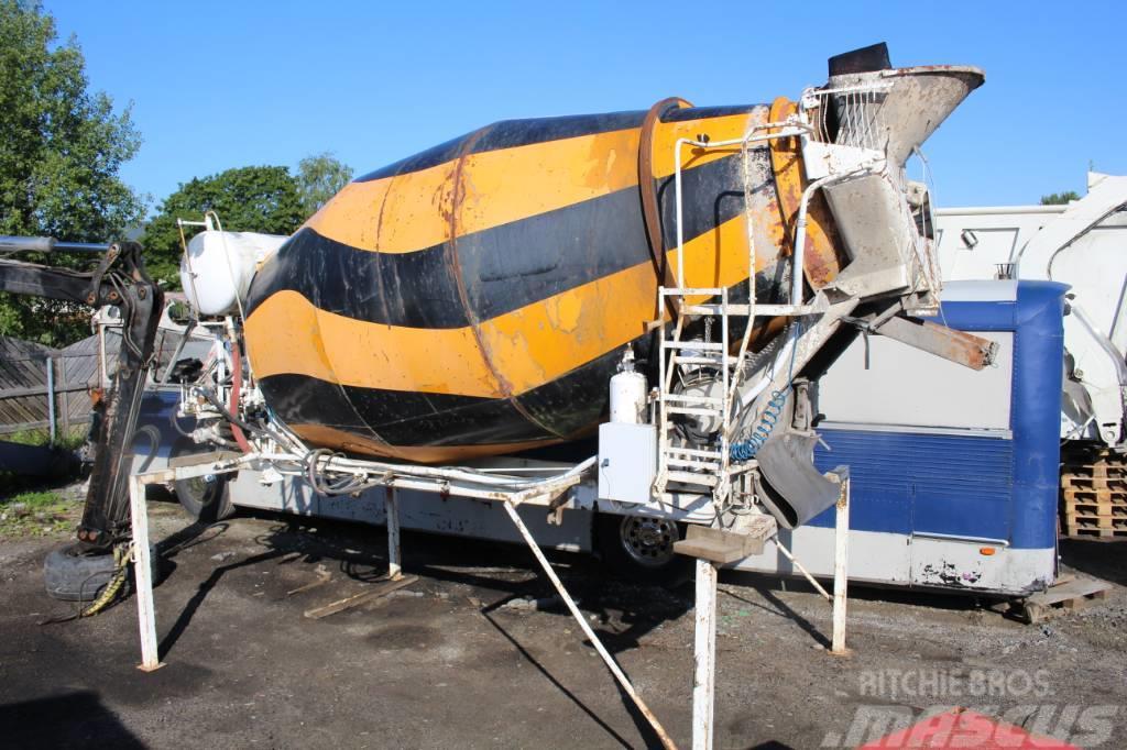Liebherr HTM 704 betongblandare