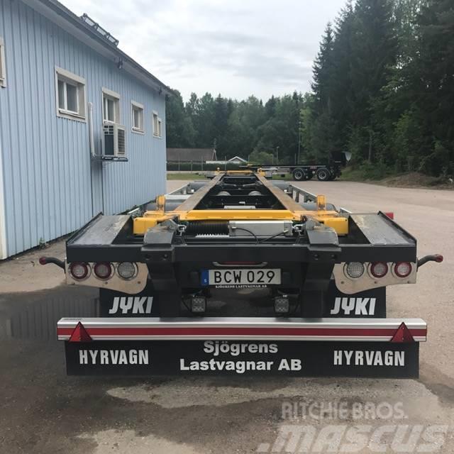 Jyki 4 axl Lvx vagn/ HYRVAGN