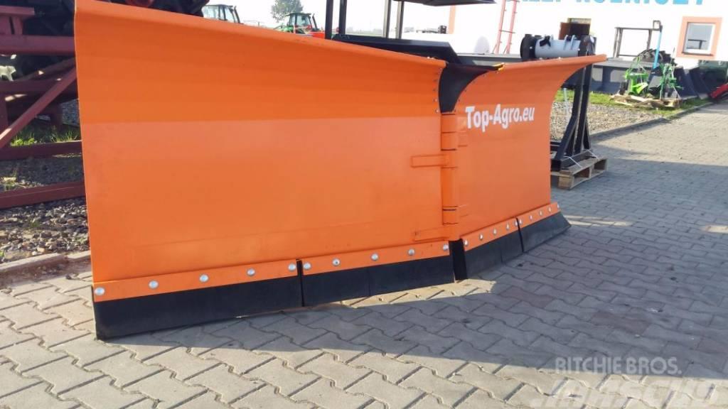 Top-Agro Snow plough Heavy Duty 2,6m VARIO