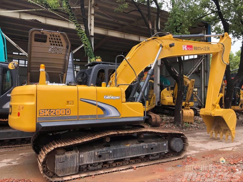 Kobelco SK 200 - Crawler excavators, - Mascus UK