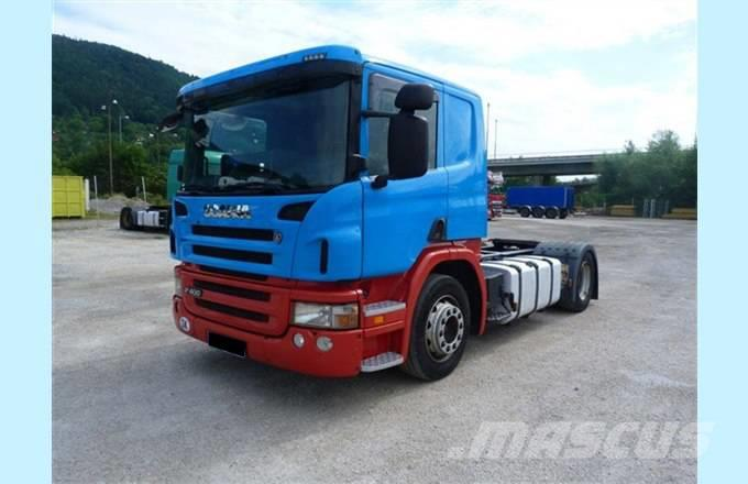 Scania TRACTOR UNIT R400 LOHR AUTOTRANSPORTER