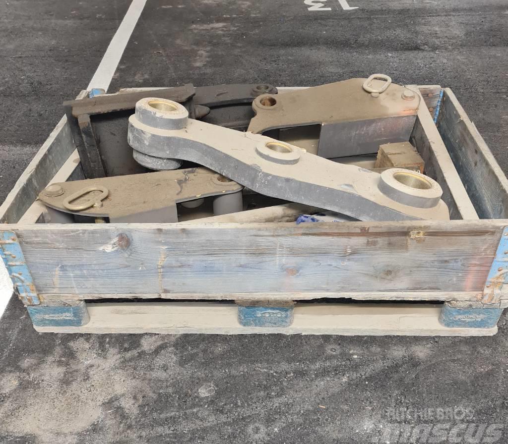 Volvo Gabelausrüstung zu Klappschaufel