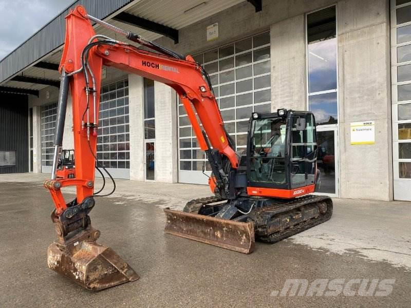 Kubota KX080-4 MONO, POWERTILT, MS08 SW