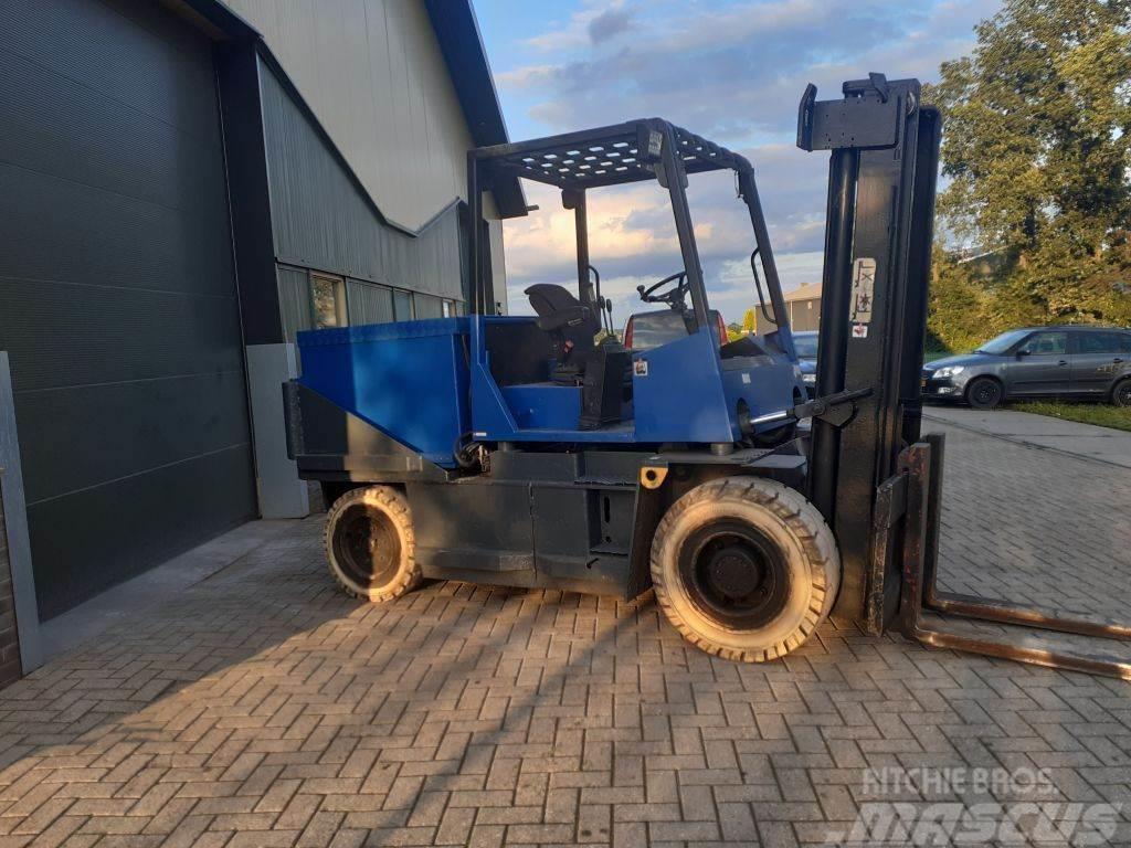 Kalmar eb6 600 heftruck elektrische 6 ton