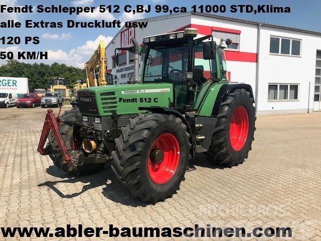 Fendt 512 C Schlepper