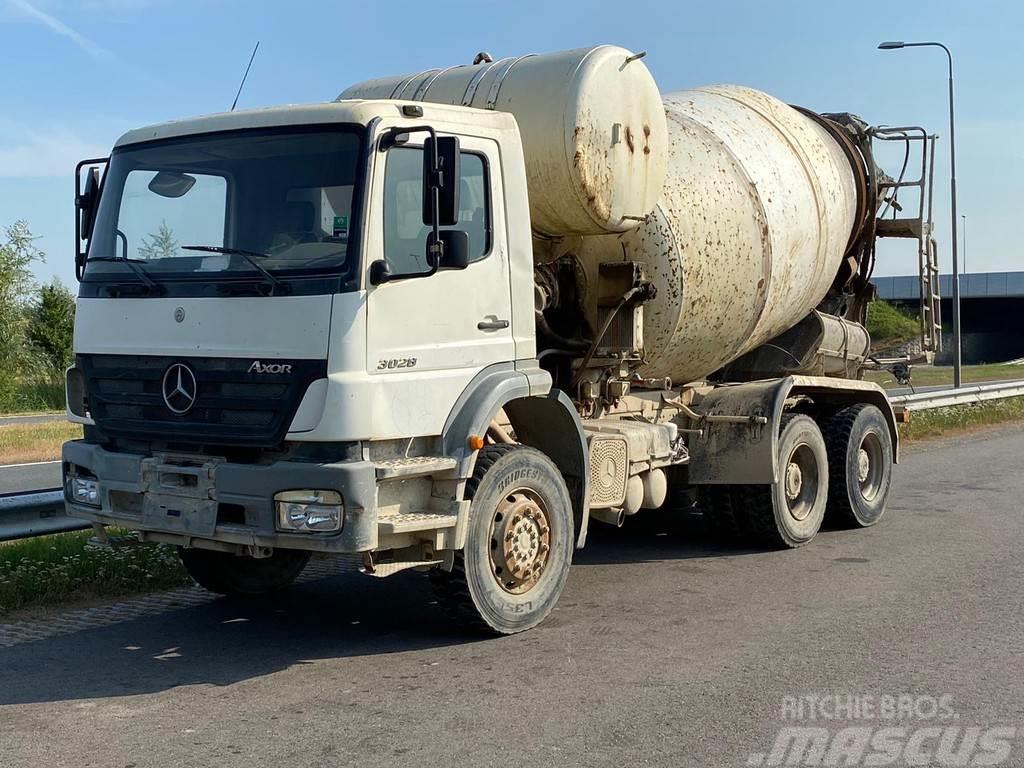 Mercedes-Benz Axor 3028 Mixer