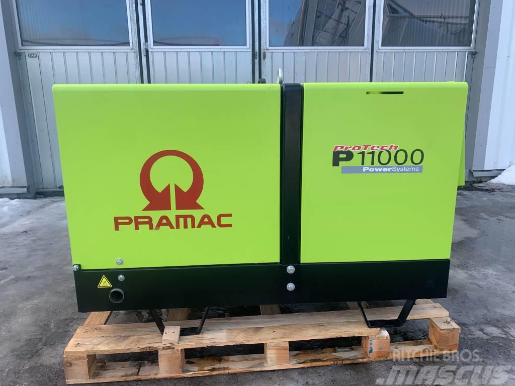 Pramac diesel elverk generator 11kVA