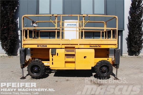 Haulotte H12SX 4x4 Drive, Diesel, 12m Working Height, Rough