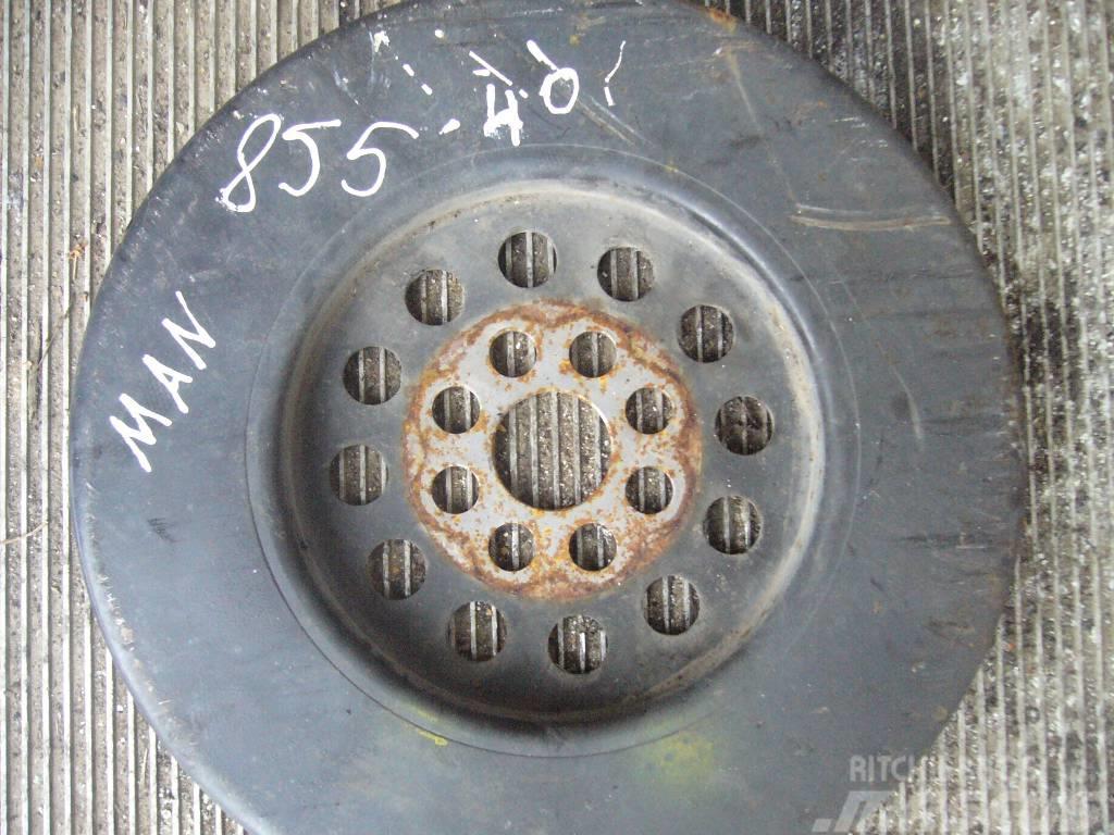 MAN TGA engine damper
