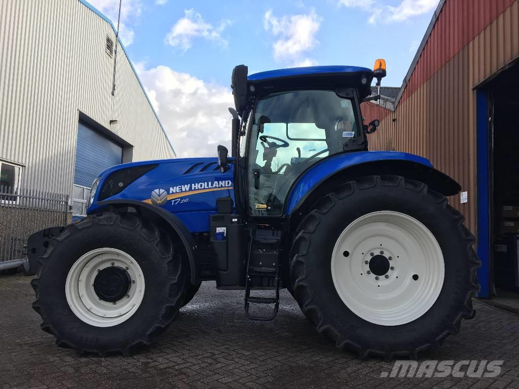 New Holland T7.210 Range Command